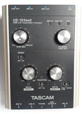 TASCAM US-122 DRIVER FOR WINDOWS