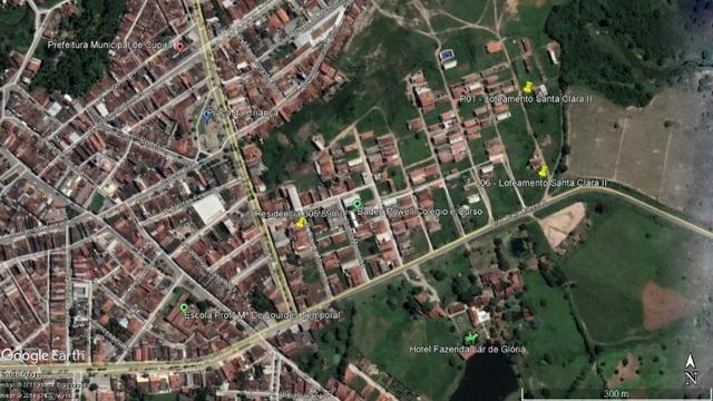 Terreno L06 no Loteamento Santa Clara II - 126 m² - Cupira/PE