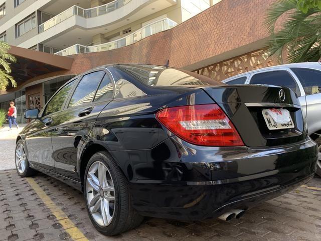 Mercedes c 180 turbo preta 2012 - Foto 4