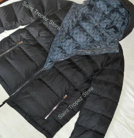 Exclusiva Jaqueta Louis Vuitton Reversível com enchimento e capuz , Rara - Foto 5