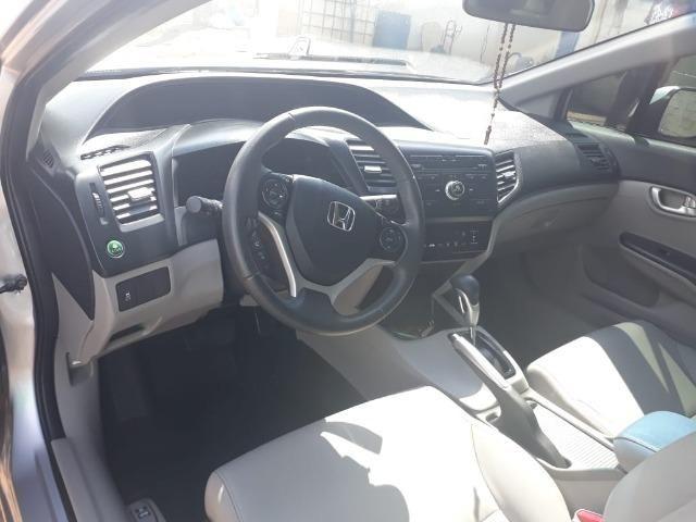 Vende-se carro Honda Cívic LXR 2016/Em Uberaba-MG - Foto 4