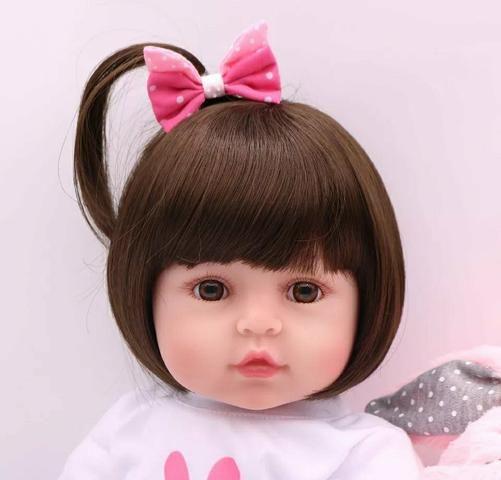 Boneca bebê reborn (ultra realista) - Foto 3