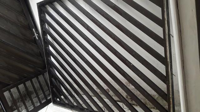 Porta e Grade de Alumínio