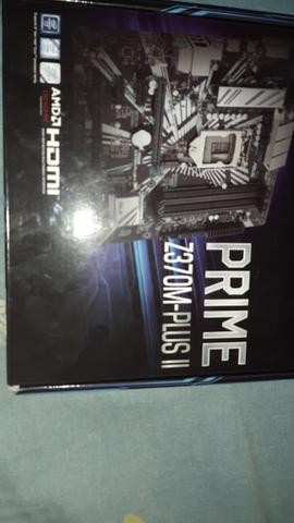 Asus prime z370m plus 2 - Foto 2