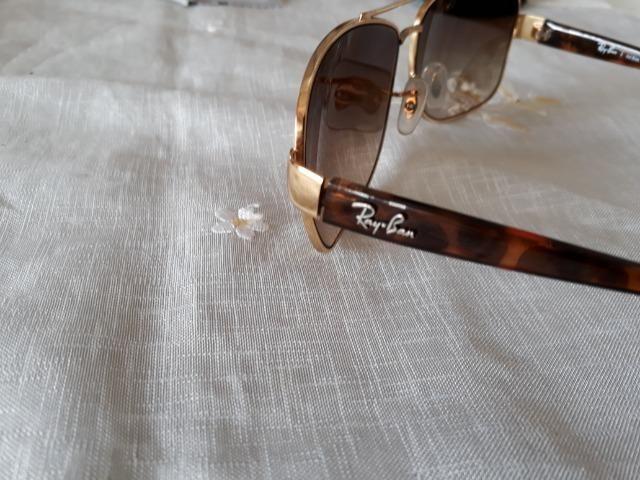 Óculos Rayban Marrom E Dourado Rb3518l Original - Bijouterias ... 97caf8d78a