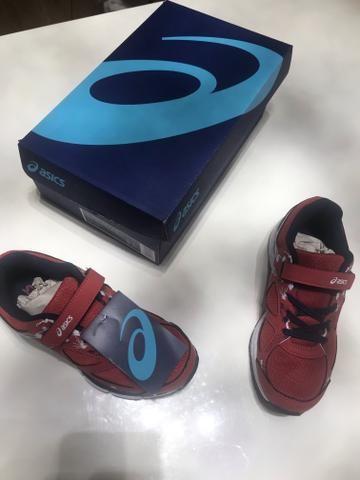 18fba02d94f Tênis Infantil Asics Gel - Light Play 3 Smoked - Roupas e calçados ...
