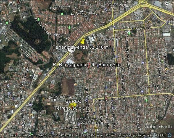 Terreno Polo Linha Verde - Prox. Carrefour Bairro Alto - Foto 7