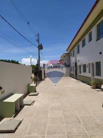 Apartamento com 3 dormitórios para alugar, 53 m² por R$ 800,00/mês - Jardim Atlântico - Ol - Foto 14