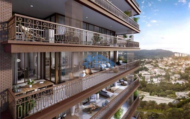 Apartamento com 5 dormitórios à venda, 410 m² por R$ 3.690.000,00 - Edifício Myrá - Baruer - Foto 2