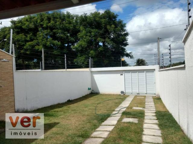 Casa à venda, 108 m² por R$ 230.000,00 - Divineia - Aquiraz/CE - Foto 3
