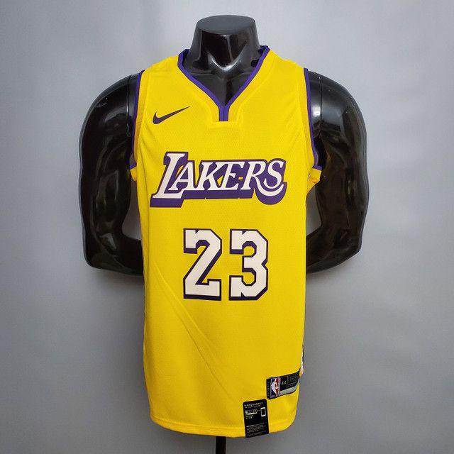 Camisas de Basquete NBA Silk - Foto 3