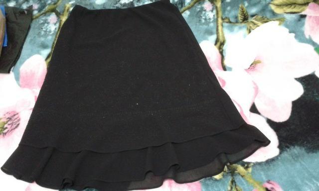 Conjunto de saia e blusa para eventos