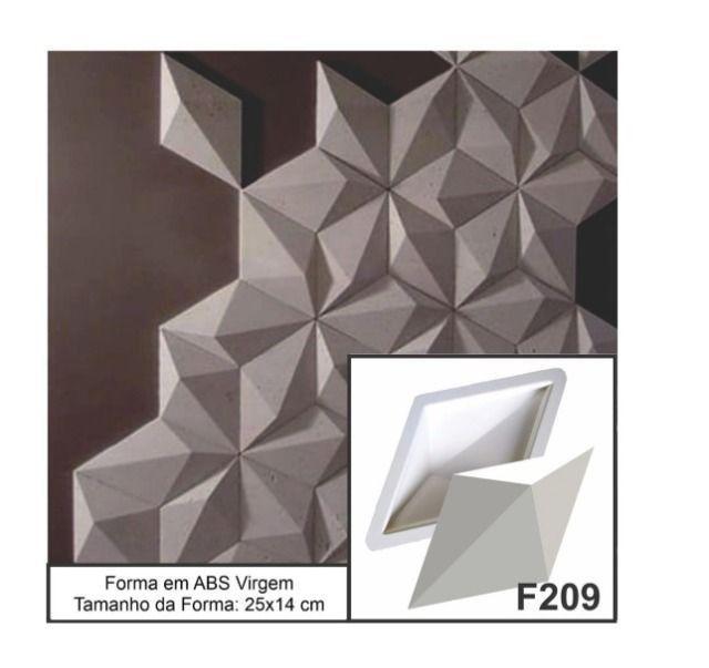 Forma Gesso 3D Forma Para Produção de Gesso 3D ou Cimento 3D Pronta Entrega - Foto 5