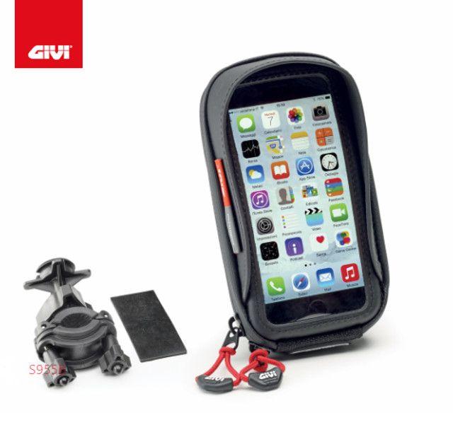 Suporte Givi para Smartphone Iphone 6, 6s, Samsung galaxy S3 - s956bbr