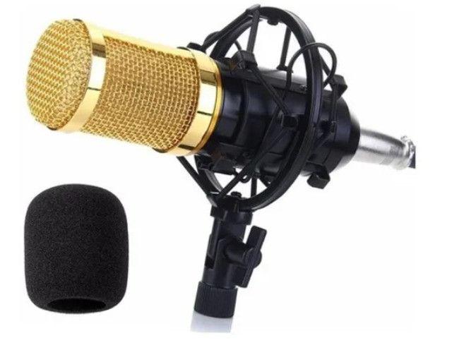 Microfone Estúdio Profissional Condensador Andowl 7451 - Foto 3