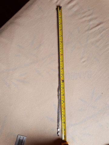 Corrente em Elo 1x1 Prata Prata 925 e duas pulseiras - Foto 4