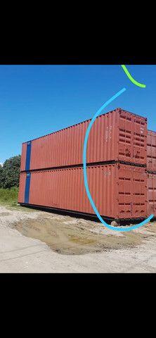 Container 12 metros, 40 pés