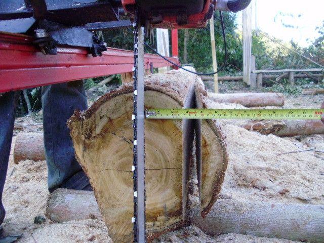 Serraria Movel Portatil Motosserra Trilho Tábua 5 Mts Nova - Foto 6