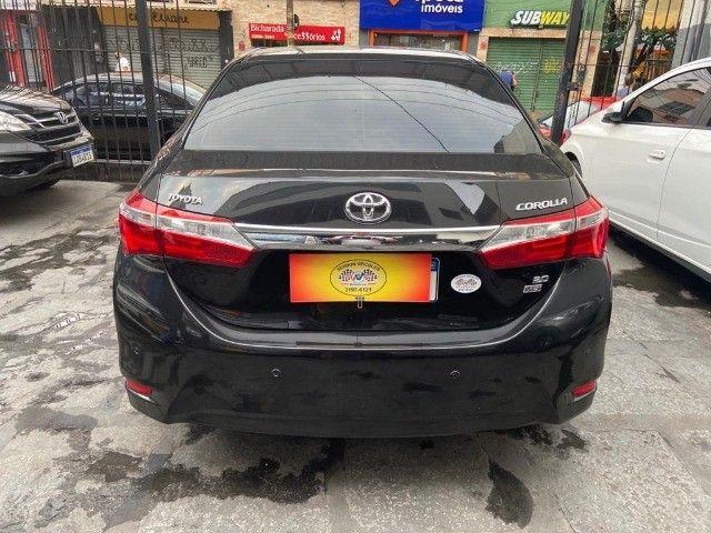 Toyota Corolla XEi 2.0 Aut + couro + gnv + multimídia - Valor real sem pegadinhas! - Foto 5