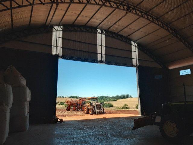 Pavilhão Armazém para Grãos 20 x 40m x 6,00m Pé Direito - Foto 10