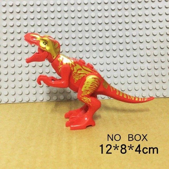 Lego compativel Dinossauros Jurassic Park 8 pçs Lindo Presente Criança Coleção - Foto 3