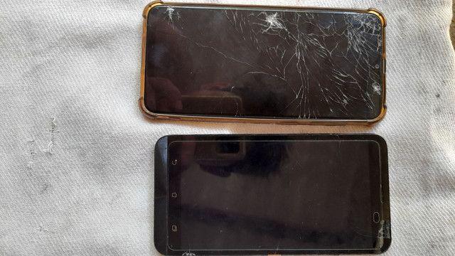 Samsung A20 e Asus zenfone selfie para retirar pecas