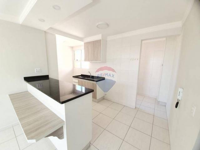 Apartamento com 2 dormitórios para alugar, 65 m² por R$ 1.296,00/mês - Jardim Bertioga - V