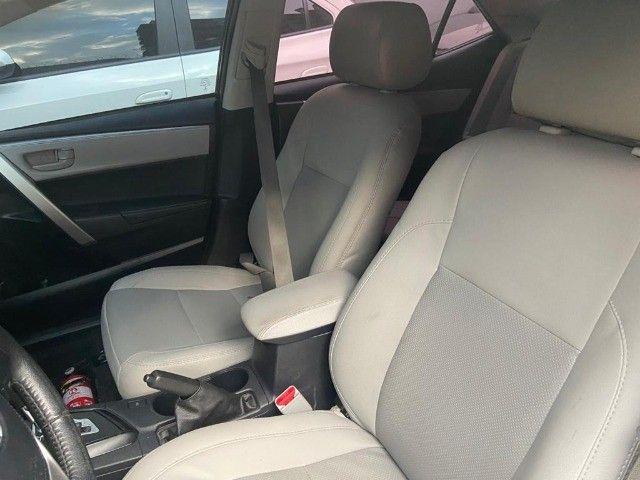 Toyota Corolla XEi 2.0 Aut + couro + gnv + multimídia - Valor real sem pegadinhas! - Foto 9