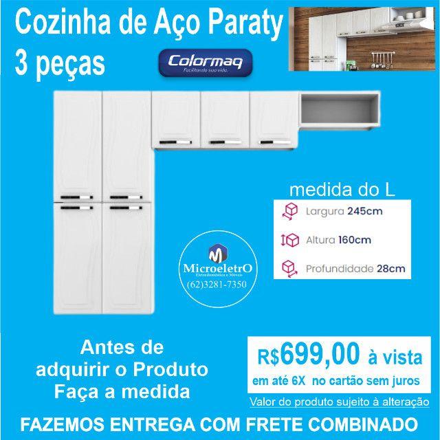 Cozinha completa de Aço Paraty 3 peças  - Foto 5