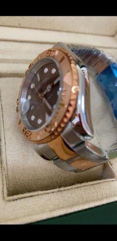 Relógio Rolex Yacht Master Automático a prova d'água Completo - Foto 2