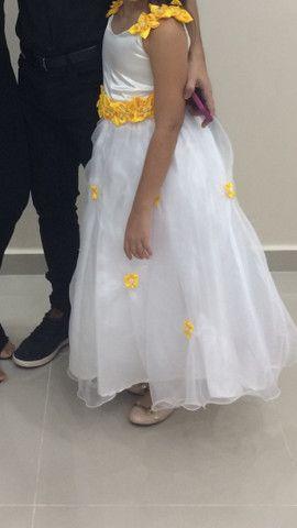 Vestido de festa/ formatura infantil - Foto 4