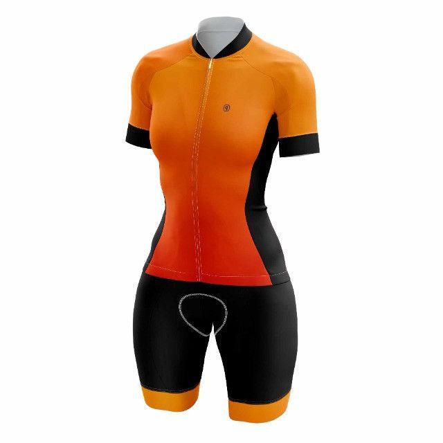 Macaquinho Ciclismo Feminino - Foto 2
