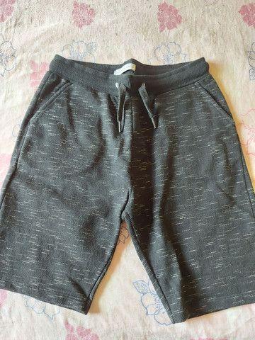 Bermuda de moletom,conjunto de bermuda e camisa Polo, calça e bermudas jeans  - Foto 4