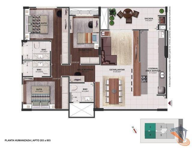Apartamento com 2 dormitórios à venda, 91 m² por R$ 670.000,00 - Balneário - Florianópolis - Foto 20