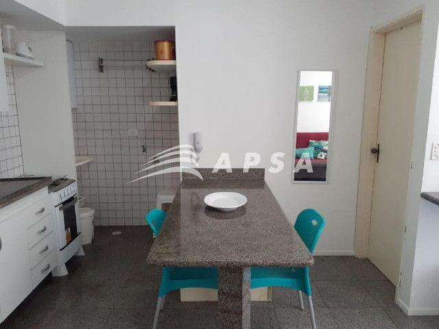 Apartamento para alugar com 1 dormitórios em Ponta verde, Maceio cod:32300 - Foto 8