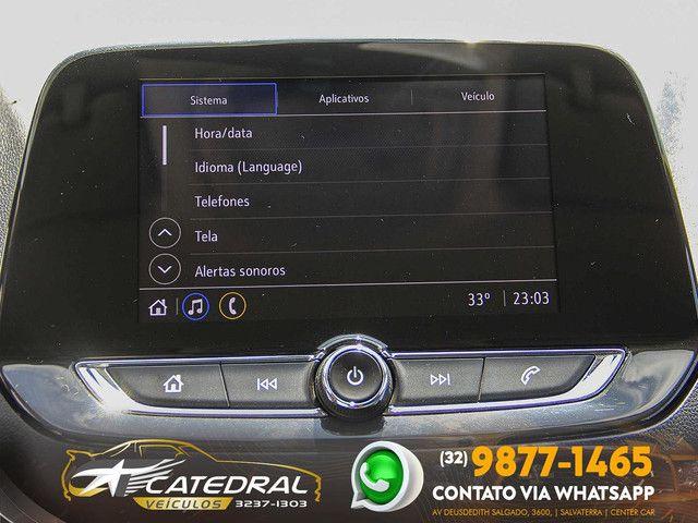 Chevrolet Onix Hatch LT 1.0 12V Flex 5p Mec. 2020 *Novo D+* Baixa Km* Aceito Troca - Foto 11