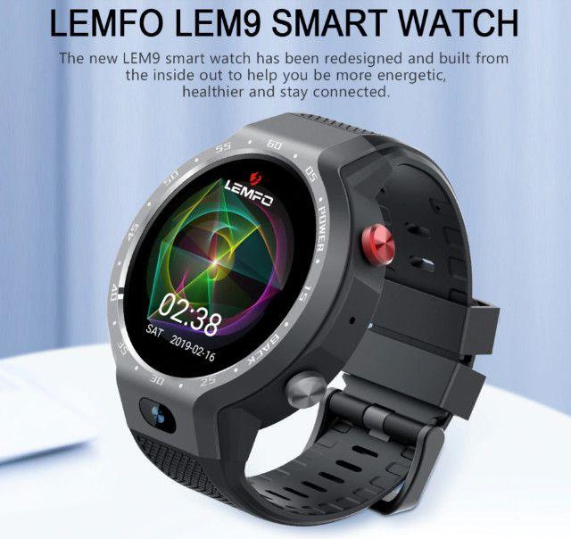 Smart Watch Lemfo LEM9 Relógio Inteligente Fitness - Foto 2