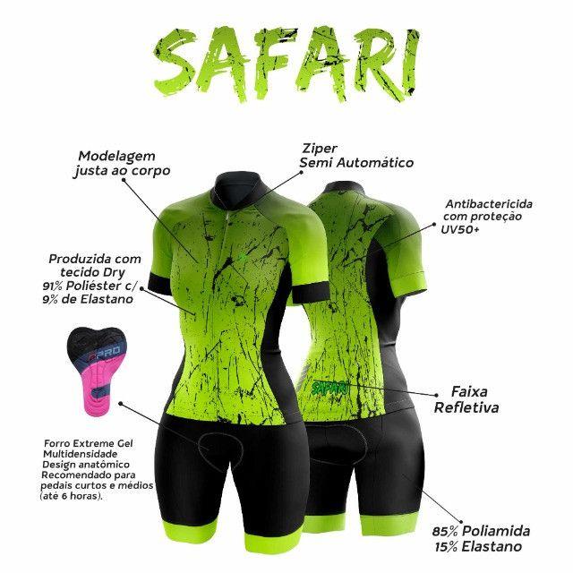 Macaquinho Feminino Ciclismo  - Foto 4