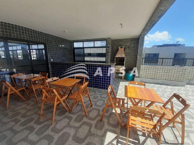 Apartamento para alugar com 1 dormitórios em Ponta verde, Maceio cod:32300 - Foto 3