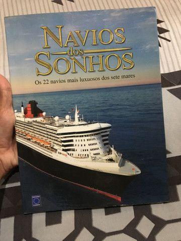 Livro navio dos sonhos