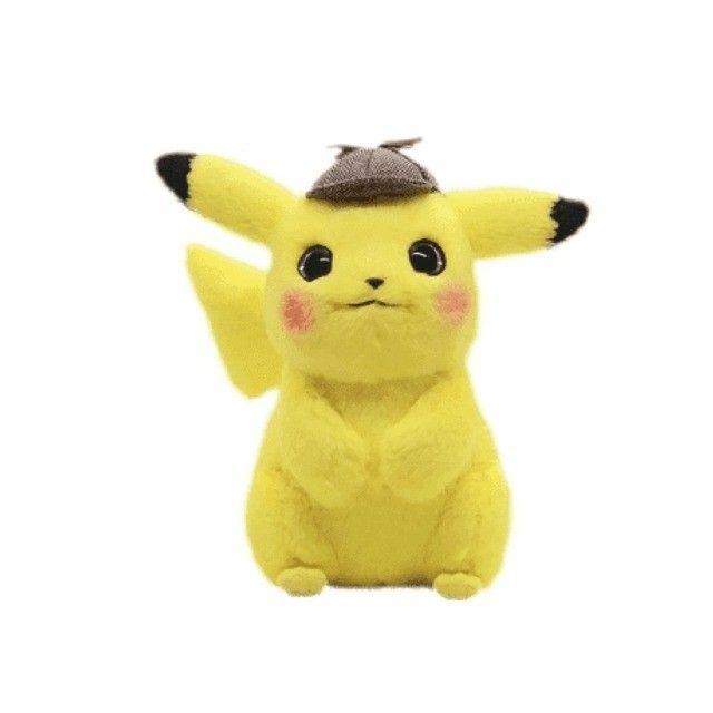 Pikachu Detetive Pelúcia 30cm