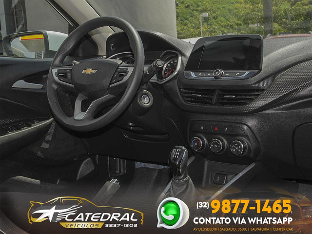Chevrolet Onix Hatch LT 1.0 12V Flex 5p Mec. 2020 *Novo D+* Baixa Km* Aceito Troca - Foto 16