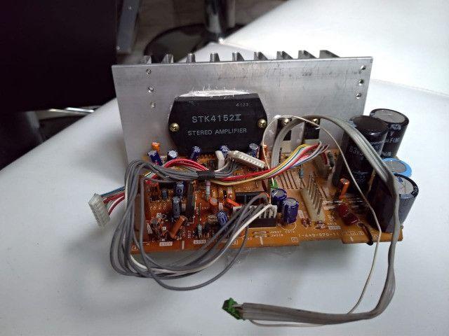 Placa De Saída De Energia Sony Fh B-900 C/stk E Dissipador