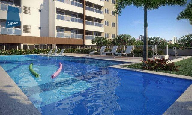 Apartamento com 2 dormitórios à venda, 58 m² por R$ 290.000,00 - Parangaba - Fortaleza/CE - Foto 3
