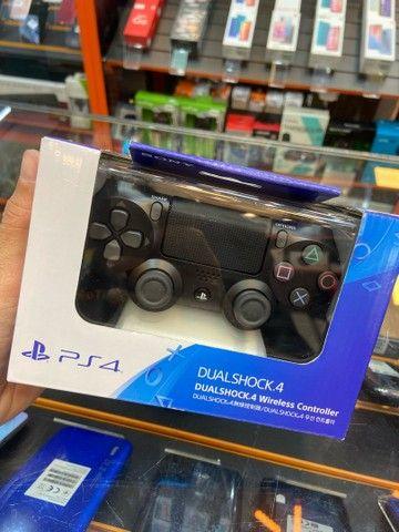 Controle de PlayStation 4 novo lacrado com 3 meses de garantia