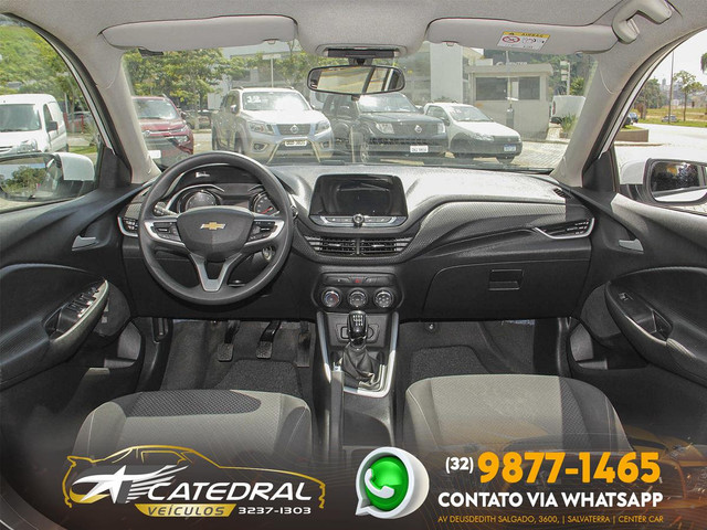 Chevrolet Onix Hatch LT 1.0 12V Flex 5p Mec. 2020 *Novo D+* Baixa Km* Aceito Troca - Foto 7