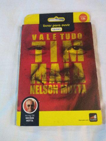 CD - VALE TUDO  - TIM MAIA - LIVRO PARA OUVIR
