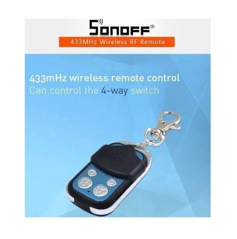 Controle Remoto Sonoff 4ch Pro Wifi 433mhz Sem Fio