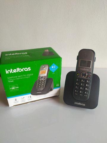Telefone s/fio c/ identificador chamadas - Foto 4