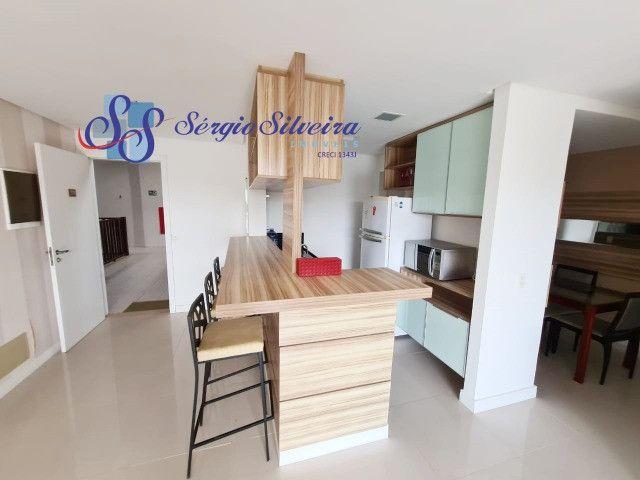 Apartamento no Porto das Dunas vista mar com 3 quartos pé na areia Beach living  - Foto 4